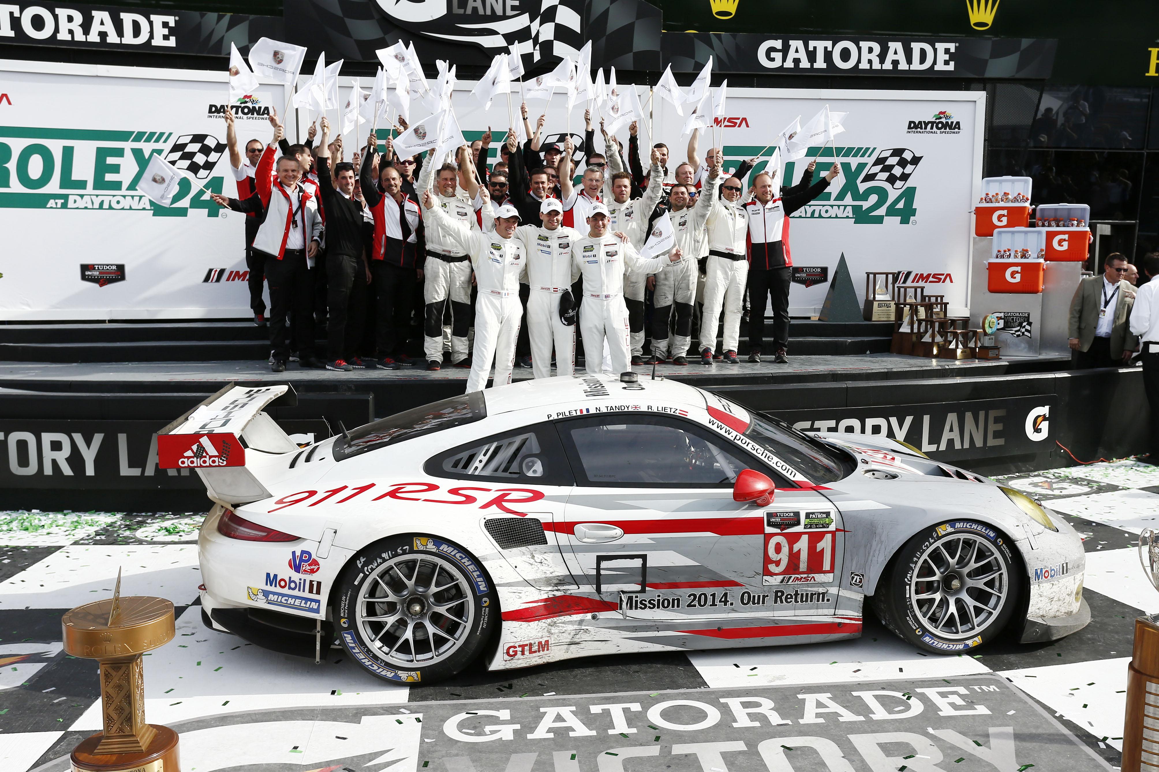 Porsche Opens 2014 Motor Sport Season With Daytona Victory