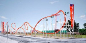 Island To Unveil Brand New Thunderbolt Roller Coaster For The 2014