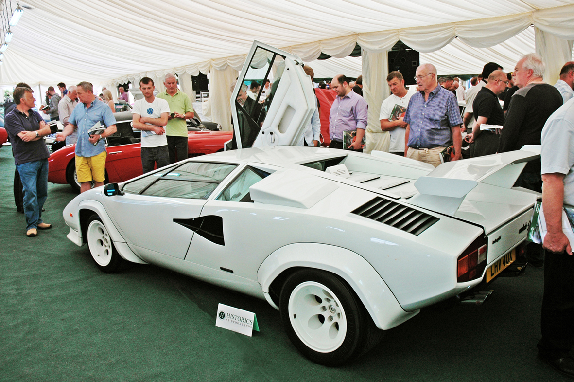 Lamborghini Countach Sells For Over 300k At Historics Largest