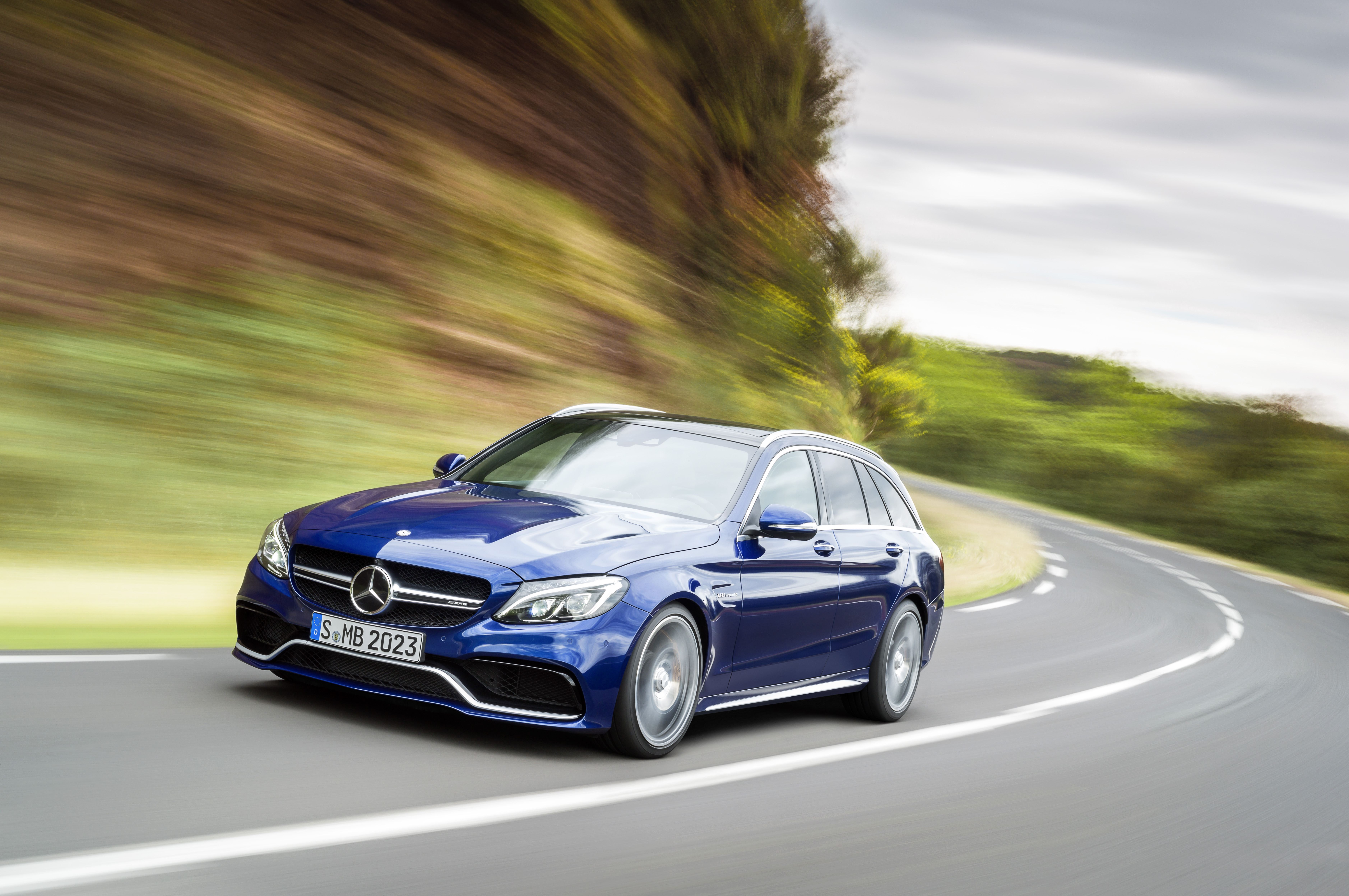 the all new mercedes amg c 63 is a all new machine