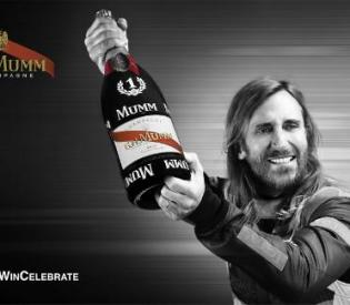 Business Partnership between Giants. MUMM Champagne and David Guetta.