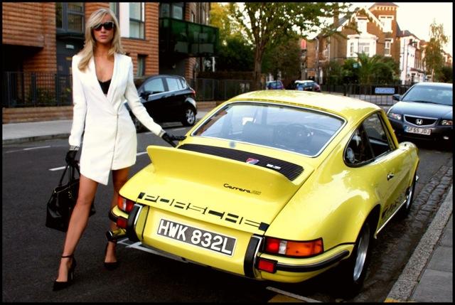 ÜBER-DESIRABLE PORSCHE 911 Featured with International Supermodel