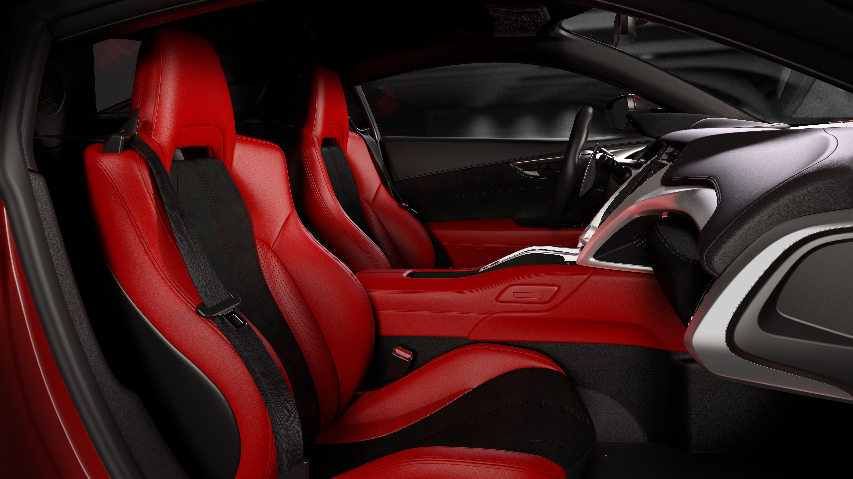 Next Generation Acura NSX Interior