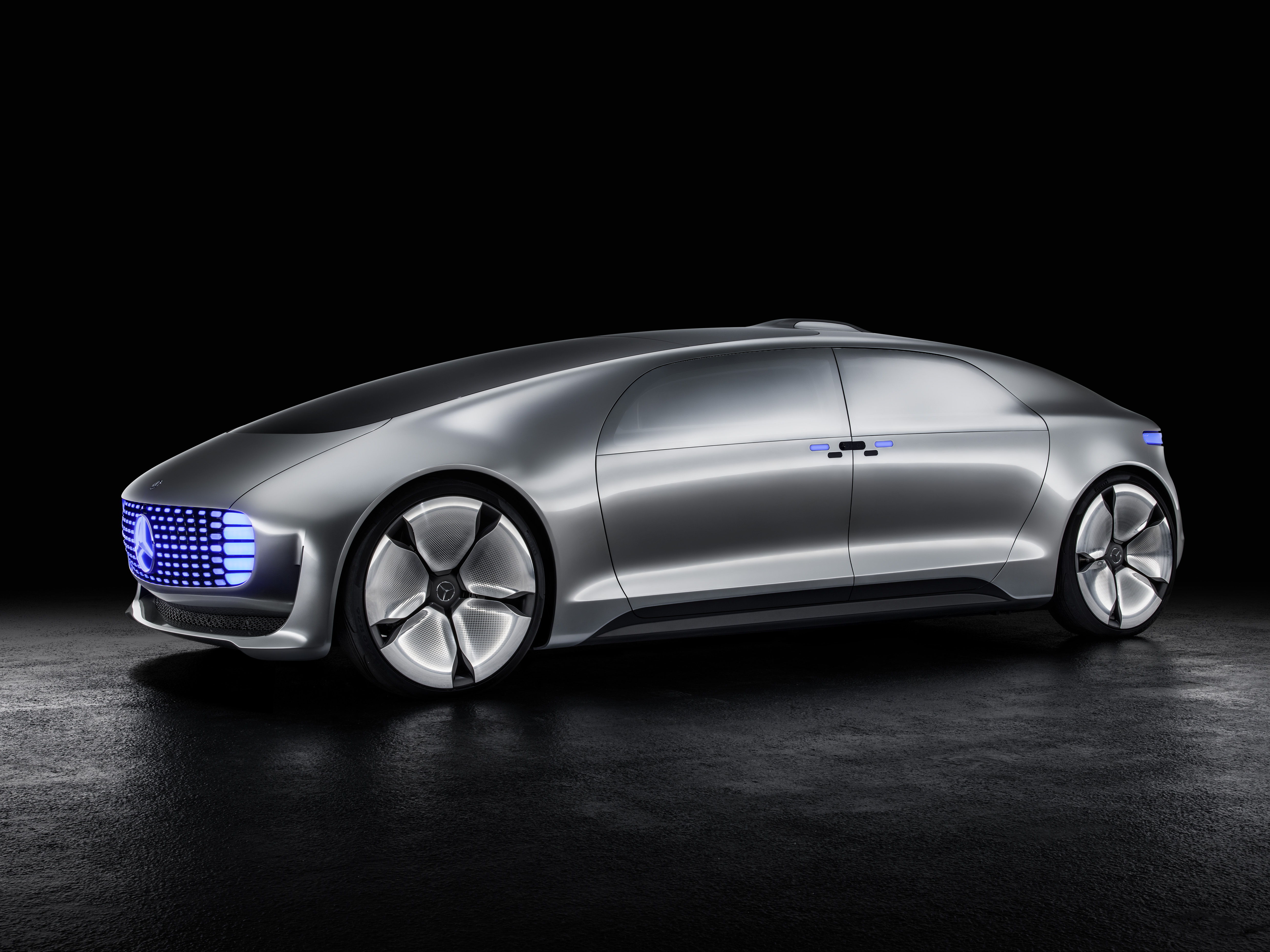 The cars from timecop and demolition man could finally be for Mercedes benz autopilot