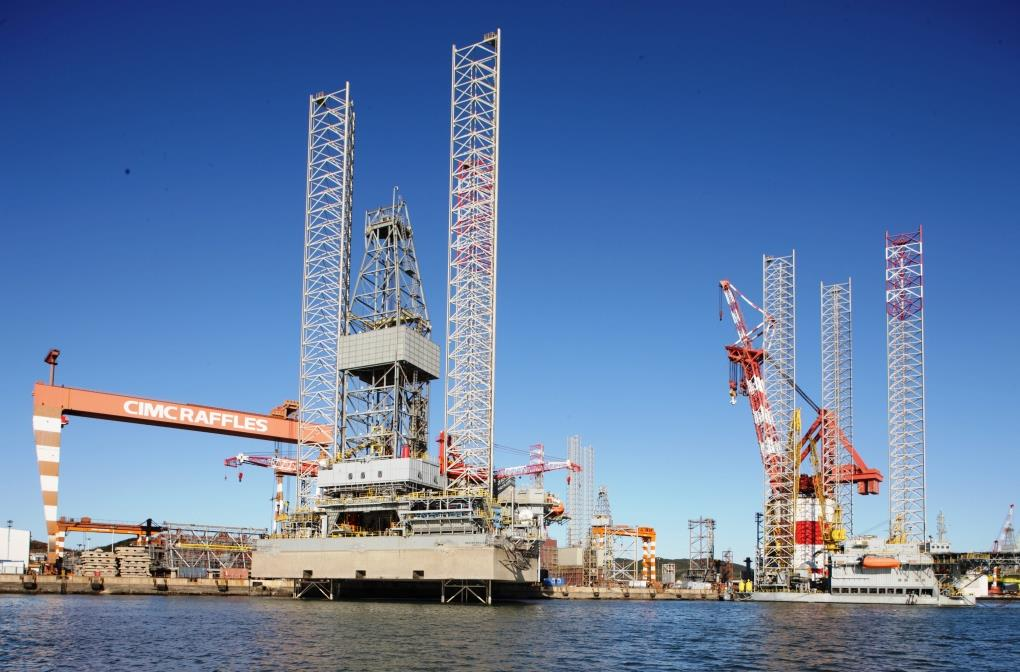 Jack up Rigs Market will be relying on Chinese Yards according to Clarksons