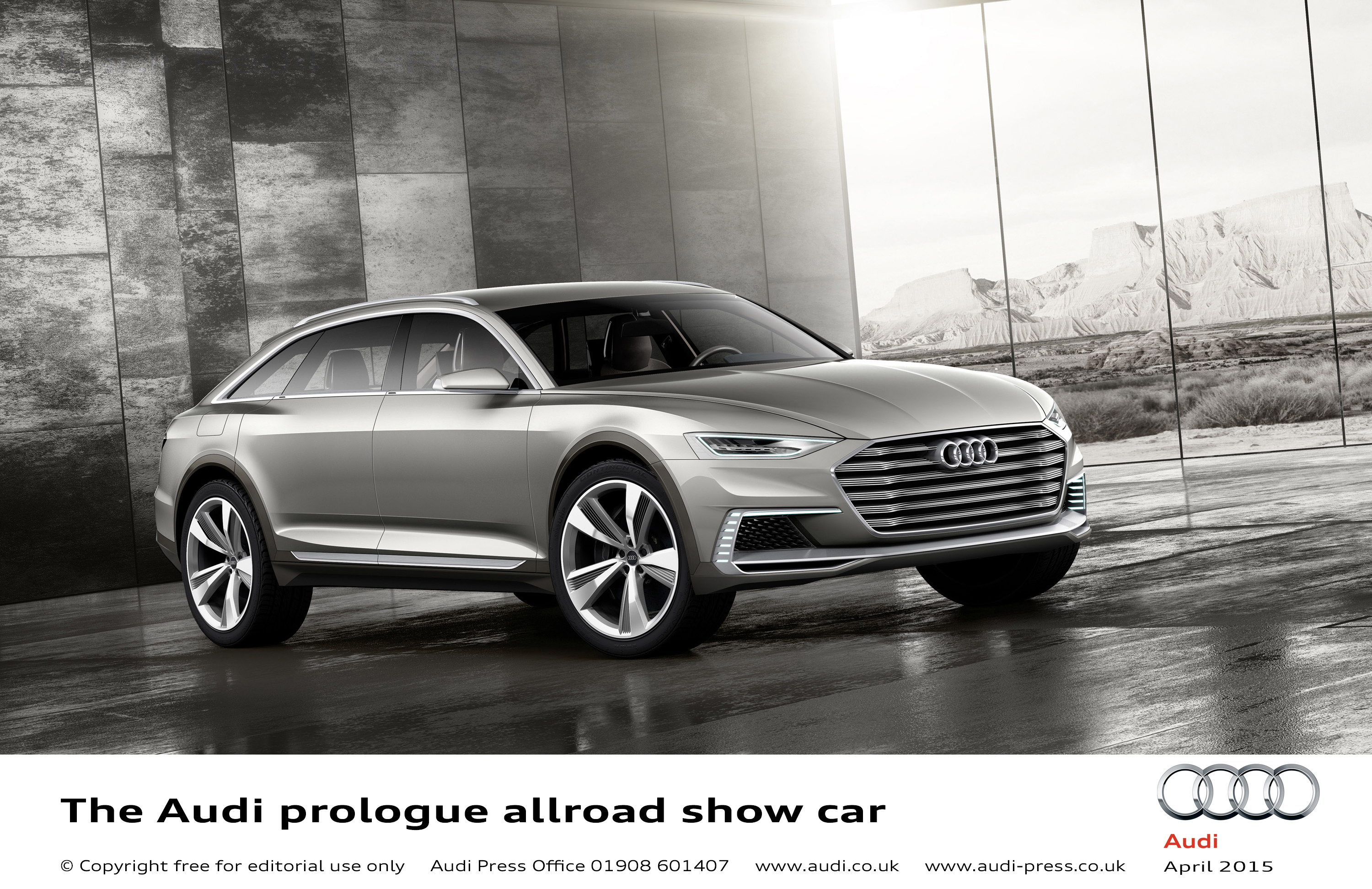 Audi Prologue Allroad Show Car Scales New Heights In
