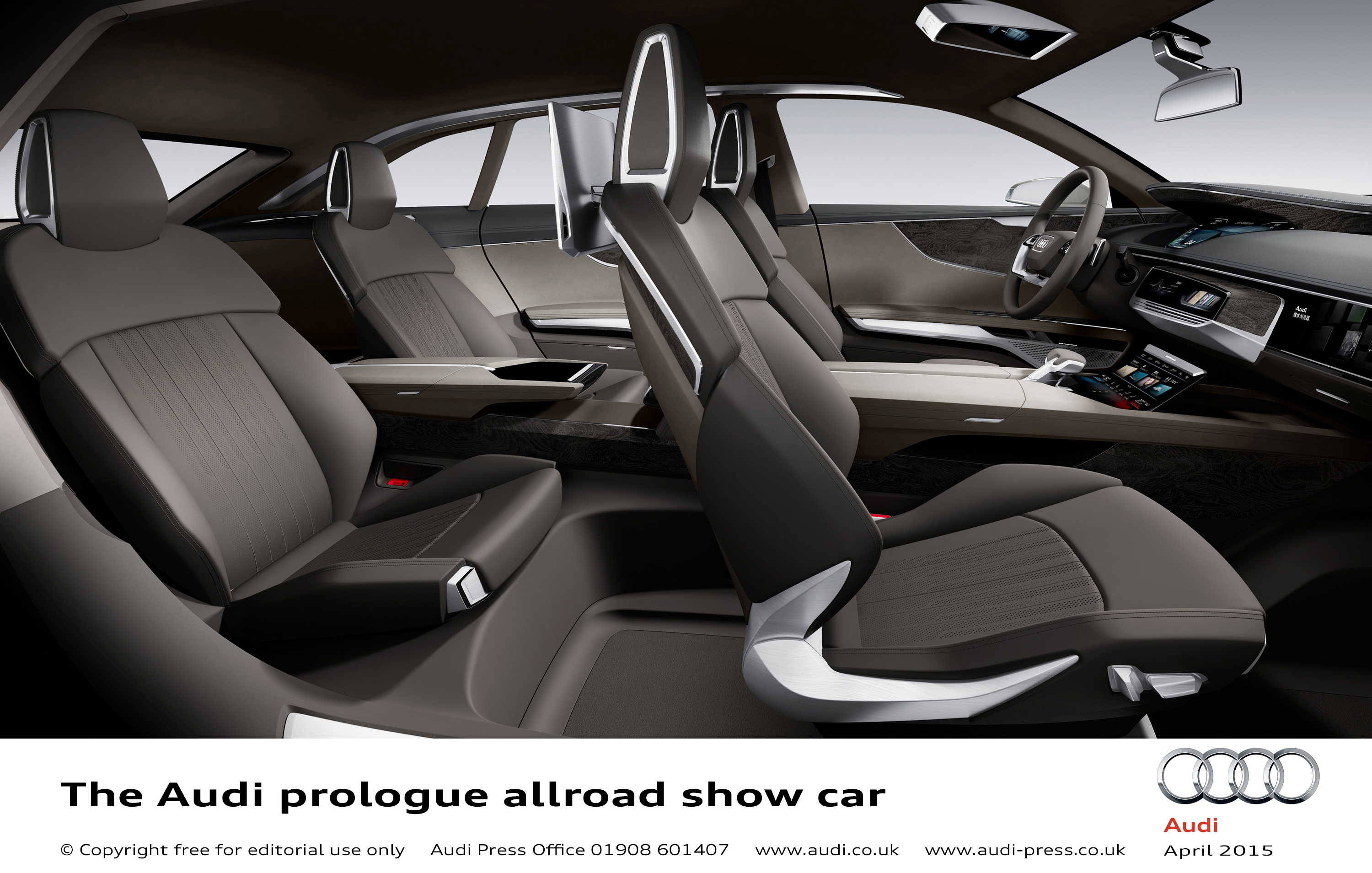 audi prologue allroad show car scales new heights in shanghai littlegate publishing. Black Bedroom Furniture Sets. Home Design Ideas