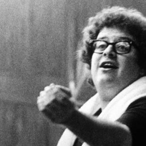 27-year-old James Levine rehearses Mahler 2 for his Ravinia debut June 24, 1971. Photo courtesy of Ravinia Festival (PRNewsFoto/Ravinia Festival)