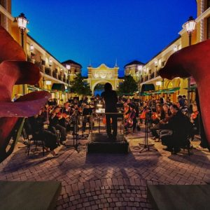Music, a romantic atmosphere and a Michelin-starred chef promise an outstanding June at Fidenza Village, Italy (PRNewsFoto/Fidenza Village)