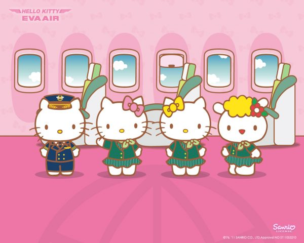 The AllNew Hello Kitty Jet Is Here  Littlegate Publishing