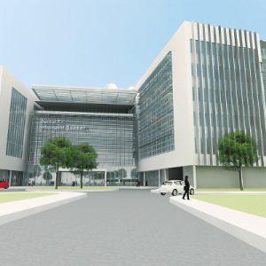 Preliminary rendering of the future UTC Center for Intelligent Buildings in Palm Beach Gardens, Florida. (PRNewsFoto/UTC Building & Industrial System)