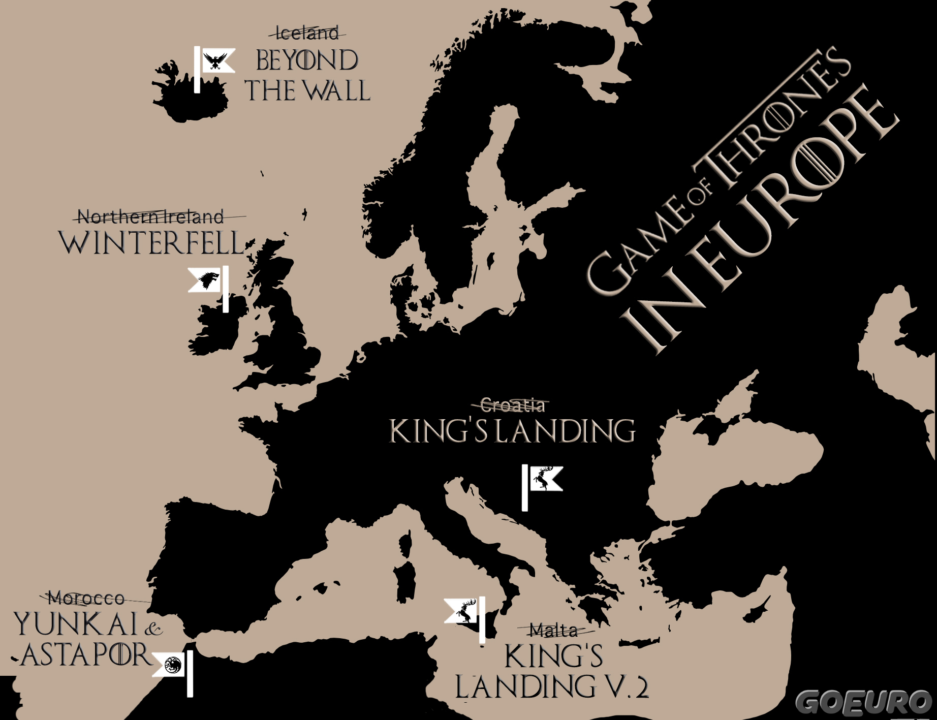 Game of thrones destinations you should visit in real life got gumiabroncs Choice Image