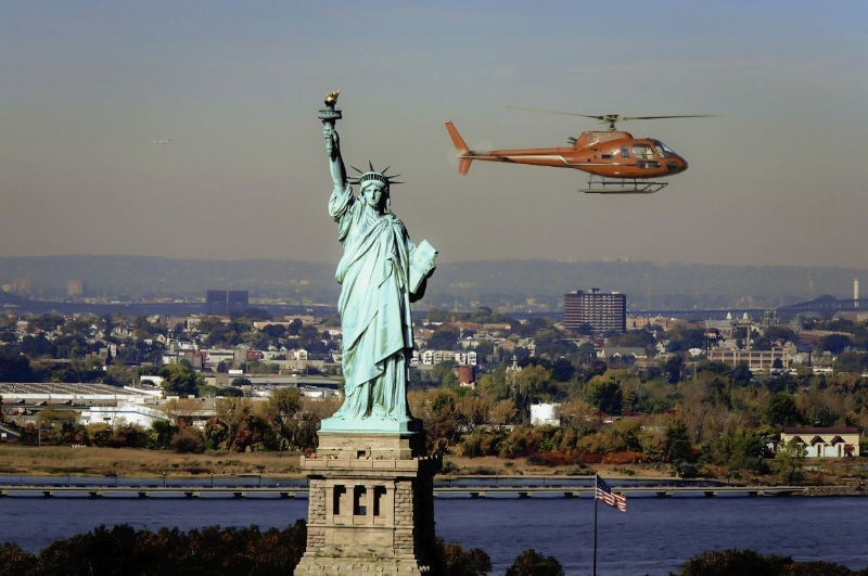 New york helicopter wedding
