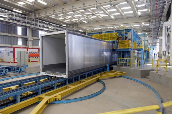 West Gate Leasing >> Maersk container industry delivers first cool reefer containers from new factory in Chile ...
