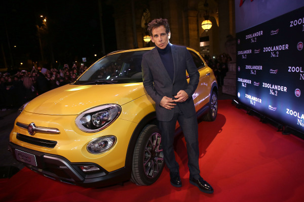 ROME, ITALY - JANUARY 30: Ben Stiller attends Zoolander No.2 Fan Screening with Fiat 500X on January 30, 2016 in Rome, Italy. (Photo by Elisabetta Villa/Getty Images for FIAT) *** Local Caption *** Ben Stiller