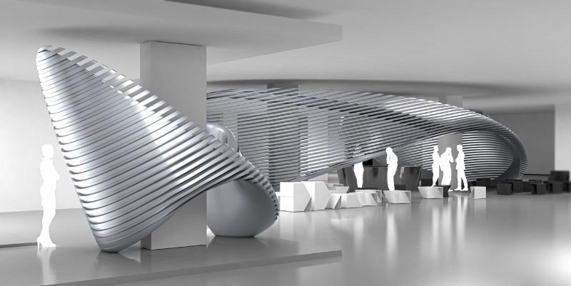 Georg Jensen Debuts Collaborations With Visionary Architect Zaha Hadid (PRNewsFoto/Georg Jensen)