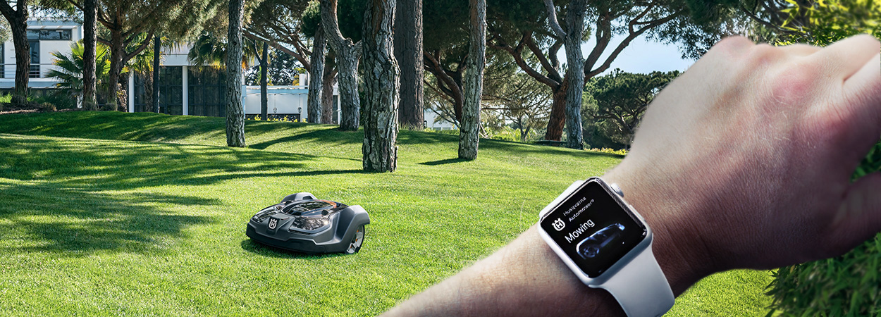 West Gate Leasing >> HUSQVARNA launches first Apple Watch App for Robotic Mowers - Littlegate Publishing