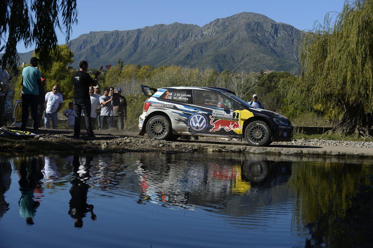 Jari-Matti Latvala (FIN), Miikka Anttila (FIN) Volkswagen Polo R WRC (2015) WRC Rally Argentina 2015