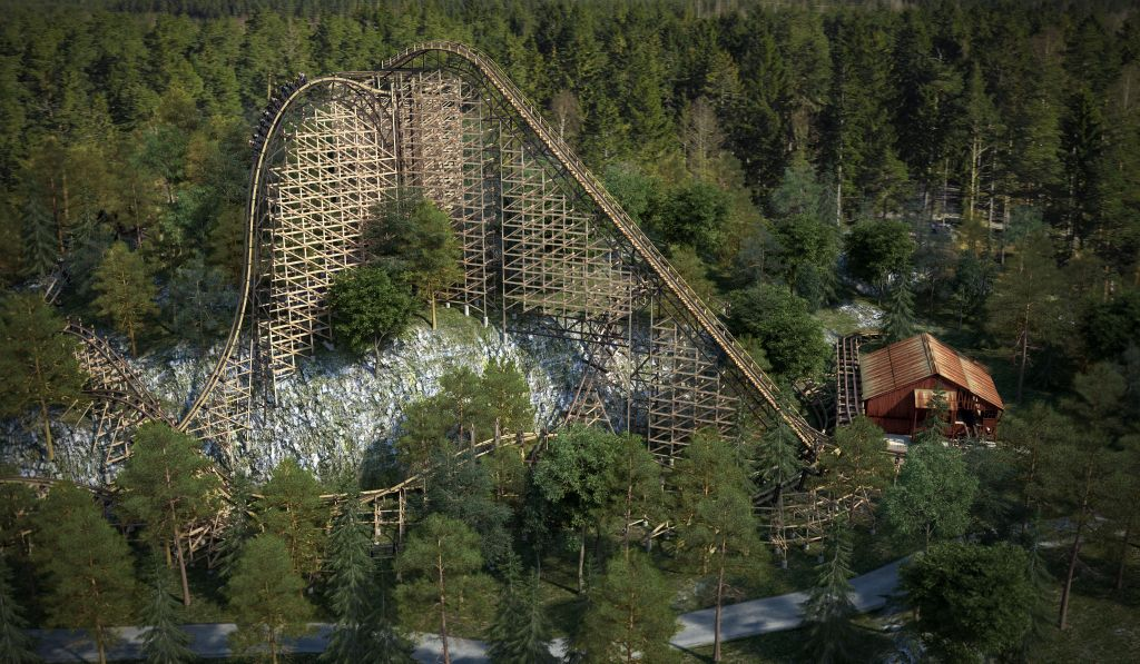The Wait Is Over For The Worlds Best Wooden Roller Coaster