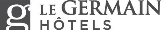 Logo : Le Germain Hôtels (CNW Group/Groupe Germain)
