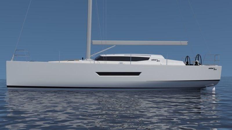 Elan GT5 - First from a new series of high-performance luxurious yachts (PRNewsFoto/Elan-Yachts.com)