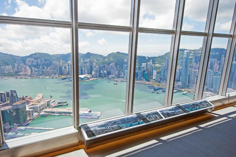 sky100 Hong Kong Observation Deck is Hong Kong's highest and only indoor observation deck. (PRNewsFoto/sky100 Hong Kong Observation Dec)